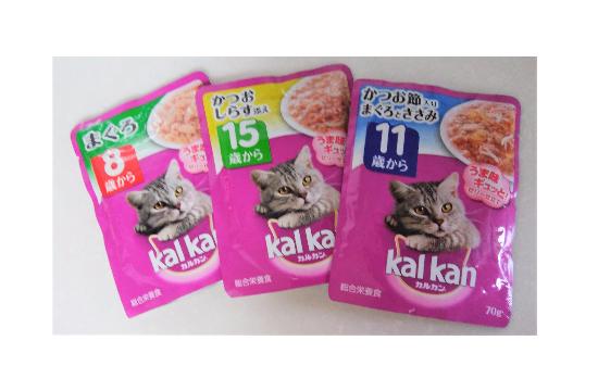 ネコの高栄養フード092864