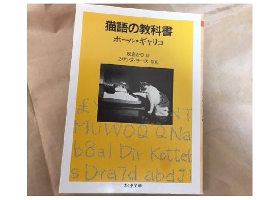 猫の小説ブックカバー写真3