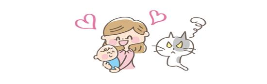 猫の赤ちゃんに対する意識、敵