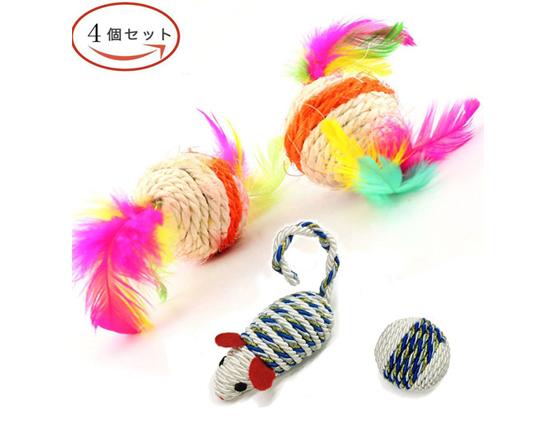 猫の歯磨きおもちゃデンタルチューマウス・デンタルボール商品イメージ