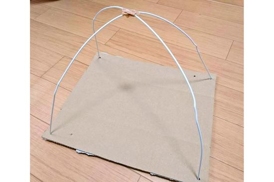 Tシャツ猫用テントの作り方3