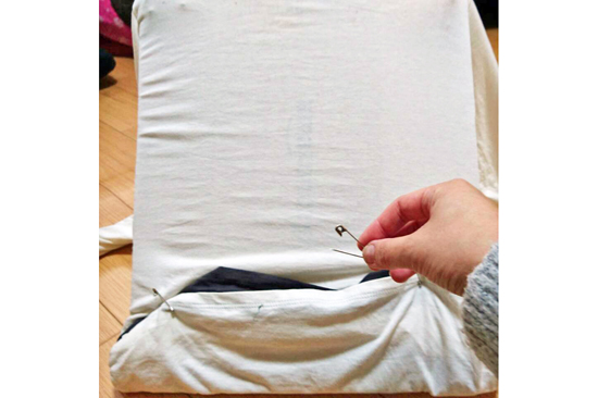 Tシャツ猫用テントの作り方5