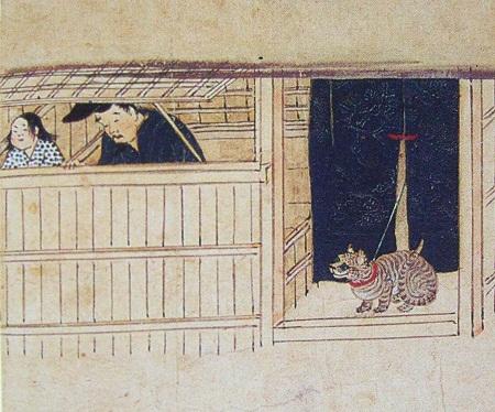 石山寺縁起絵巻の画像