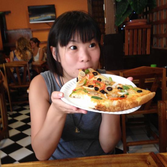 ピピファーストフードのピザ写真