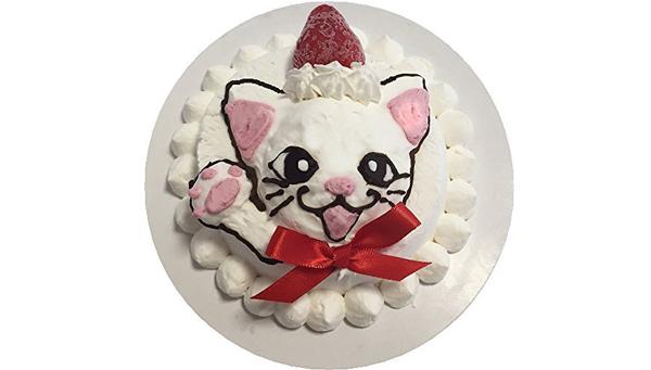 猫のクリスマスプレゼントのケーキ商品画像