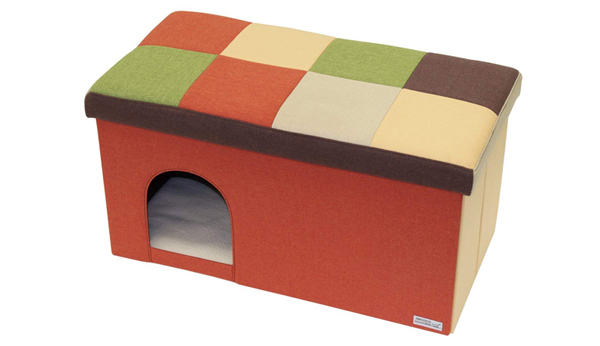 猫のクリスマスプレゼントのキャットハウスの商品画像width=