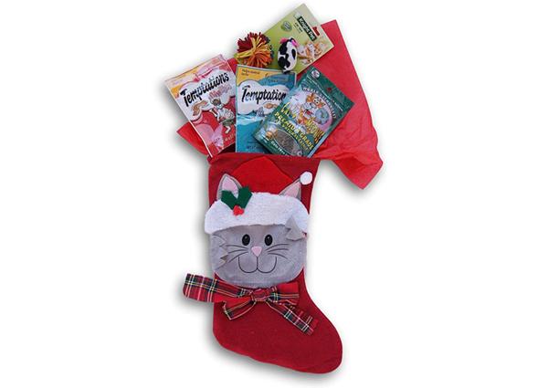 猫のクリスマスプレゼントのお菓子の商品画像