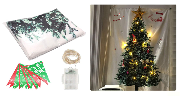 Tumaoクリスマスツリータペストリーの商品画像