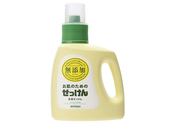 ミヨシ石鹸 無添加お肌のための洗濯用液体せっけん商品イメージ