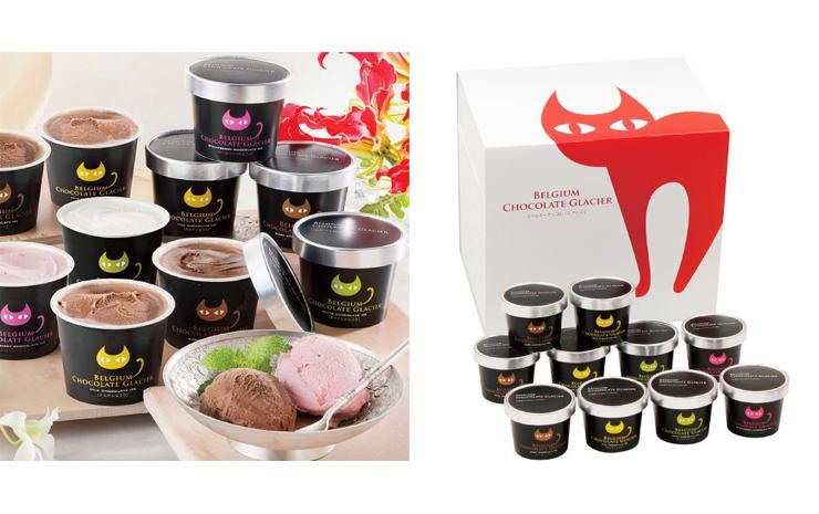 イーペルの猫祭りチョコアイス商品イメージ
