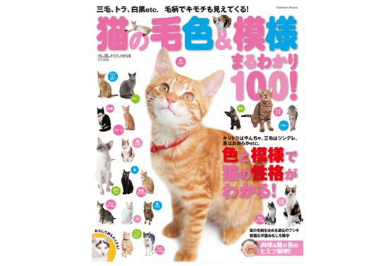 猫の毛色&模様まるわかり100の本の商品イメージ