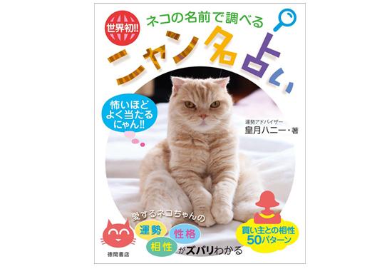 ニャン名占いの本の商品イメージ